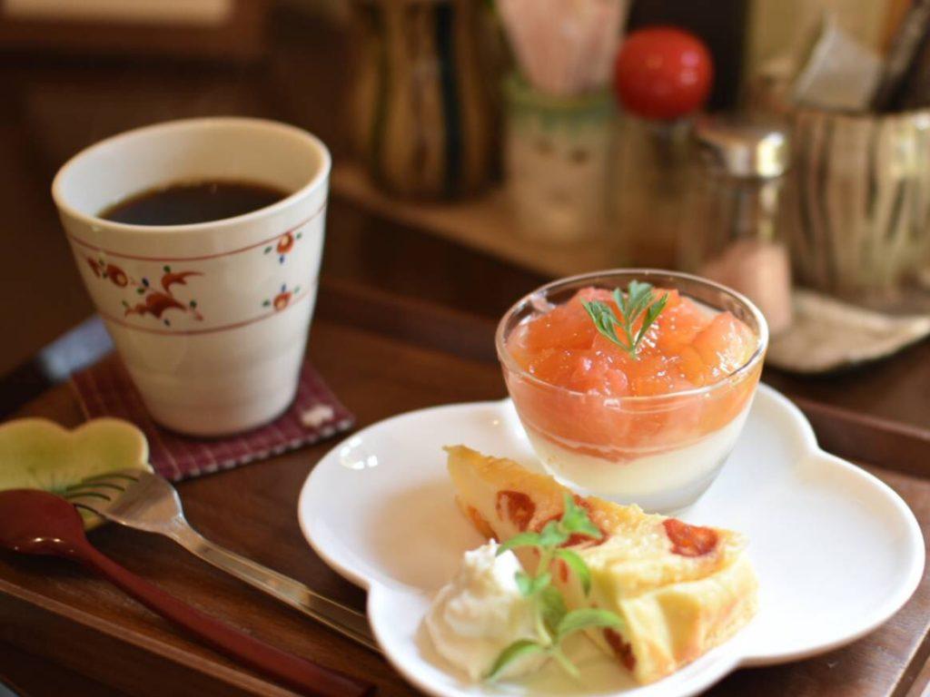 デザート2種セット+ミニコーヒー